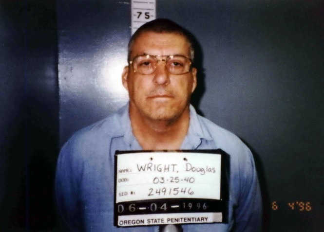 Douglas Wright was executed after he dropped his appeals.