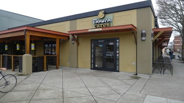 The Panera Cares Cafe is located in Northeast Portland's Hollywood community, beside Trader Joe's.