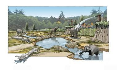 Elephant Lands, due to open in 2015, will span 6.25 acres.