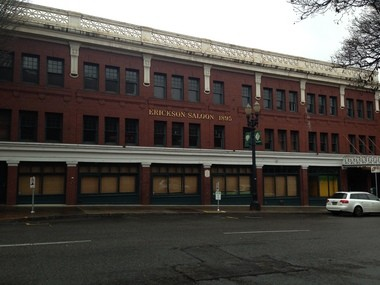 The brick building at the corner of Northwest Second Avenue and Burnside Street that once housed the legendary Erickson's Saloon will be converted into mixed-income apartments by Innovative Housing Inc.