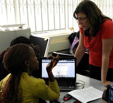 Sarah Schaack has held workshops for African scientists in Kenya, Uganda and Tanzania.