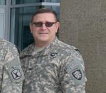 Col. Mark Rathburn during a FEMA meeting last February.