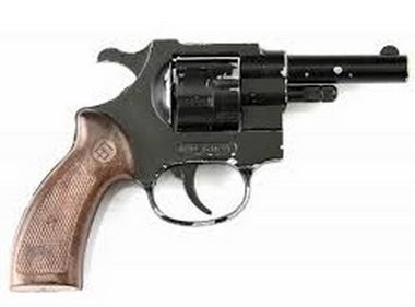 Portland police released this photo of a replica of Bellew's starter pistol, recovered from the scene of the late Sunday night shooting outside a WinCo Foods off Northeast 122nd Avenue.