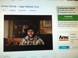 Screen shot from Ammon Bundy's online legal defense fund. (Maxine Bernstein|Staff)