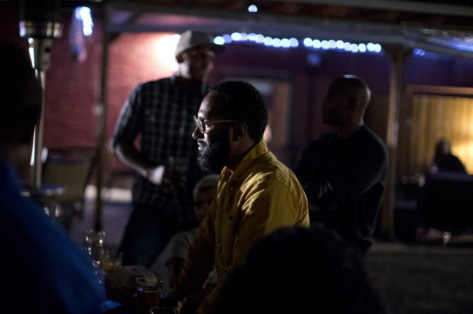 Maxime Paul gathered a group of new friends together recently at Solae's, a black-owned jazz club on Northeast Alberta Street in Portland.