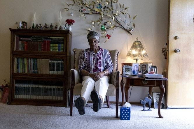 Thelma Glover can no longer drive, and she feels stranded in East Portland -- far away from her church and from a community that might have chipped in to keep her house clean and her lawn mowed.