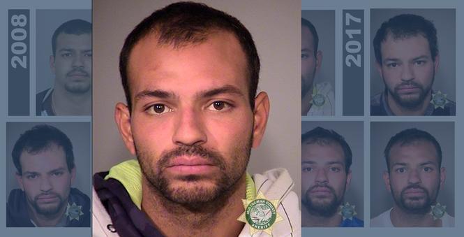 Sergio Martinez's arrests in Oregon, 2016-2017 - oregonlive com