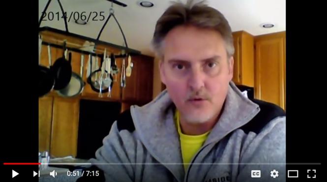 Michael E. Bowman espouses his views on his YouTube channel.
