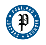 The logo pictured on the website of the Portland Diamond Project.