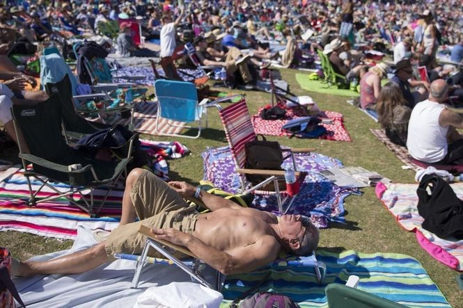 The five-day 30th birthday celebration of the Safeway Waterfront Blues Fest continues Saturday at waterfront park entertaining thousands, on land and in the Willamette, with musical acts from around the world. The Oregonian/OregonLive file photo