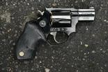 The Taurus .38-caliber revolver found near Patrick Kimmons, according to police.