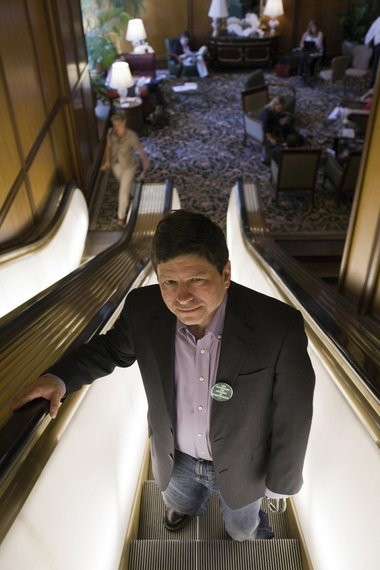 Portland Commissioner Steve Novick, known as Left Hook Novick on national Talk Like a Pirate Day.