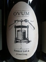 Ovum Riesling Memoroista Meyer Vineyard