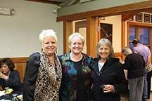 (Left to right) Tara Rutledge, Margaret Rice and Terry Ciecko at the YMCA of Camp Collins' fundraiser.