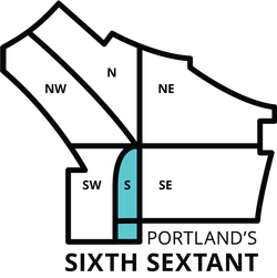 A map of the proposed addition of South Portland.