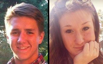 Parker Ward and Talea Stashin, Sherwood High School seniors, are editors-in-chief of the school paper.