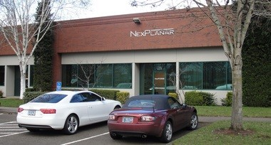 NexPlanar's offices in Hillsboro