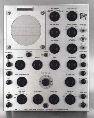 A Tektronix 511 oscilloscope