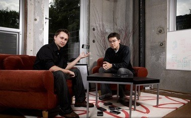 Meridian founders Nick Farina and Kiyo Kubo.