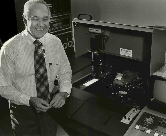 ESI founder Douglas Strain in 1984.