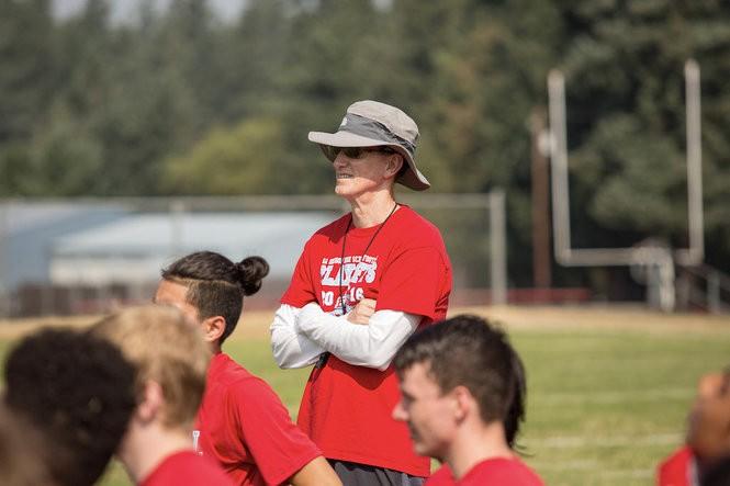 Chris Knudsen was 158-158 during a 32-year head coaching tenure at Centennial.