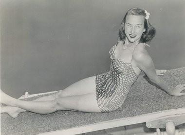 """Gorgeous Gussie"" Moran in her heyday."