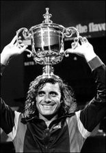 Guillermo Vilas during his magical 1977 season.