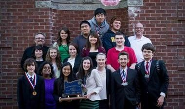 Clackamas High School's speech and debate team finished 2nd in state.