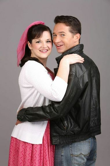 Broadway Rose Theatre's production of Grease will be led by Kylie Clarke Johnson as Sandy Dombrowski, and Peter Liptak as Danny Zuko.
