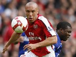 Former Arsenal, Manchester United and Werder Bremen defender Mikael Silvestre has been invited to try out for the Portland Timbers, and he officially joined training camp on January 22. While some reports indicate he's lost a step and has a tendency to make unforced errors, he's got a wealth of experience internationally and his addition could provide some benefit to the team during the 2013 MLS season.