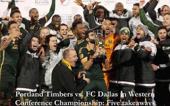 Portland Timbers vs  FC Dallas in Western Conference Championship