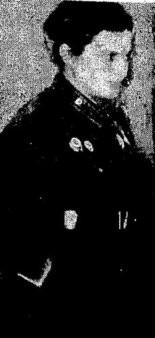 """Lyudmila Pavlichenko in her """"drab"""" uniform."""