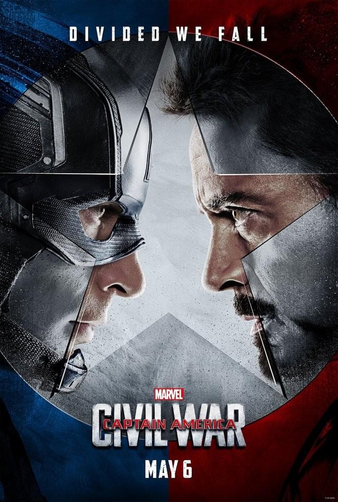 Image result for cap civil war poster
