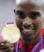 Mo Farah springs to the defense of the misinformed TV anchor.