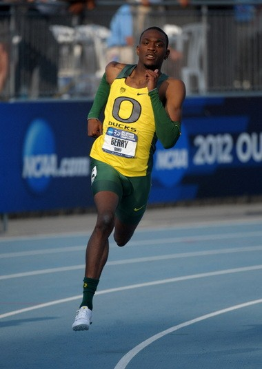 Mike Berry was the only Duck to score in the men's competition at last year's NCAA Indoor Championships.