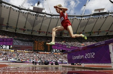 Evan Jager, pictured here competingi in last summer's Olympic Games.