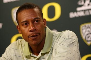 Oregon coach Robert Johnson