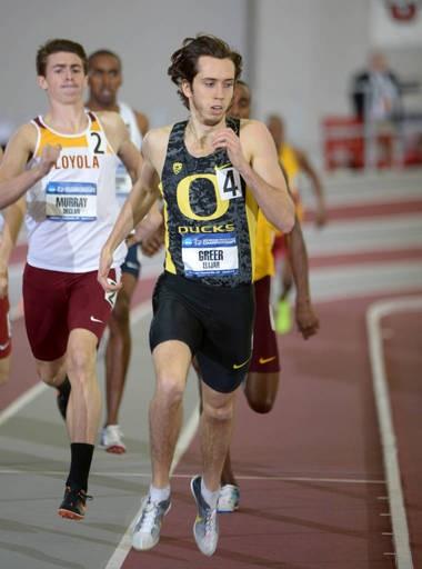 Oregon's Elijah Greer
