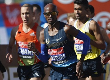 Oregon Project star Mo Farah