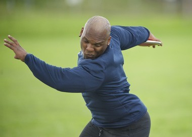 Concordia's Nate Moses is one of the best college discus throwers at any level.