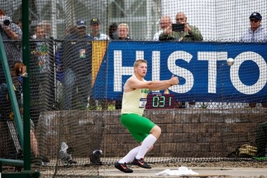 Oregon's Greg Skipper will the Ducks' only, non-distance scoring possibility at next weekend's NCAA Indoor Championships.