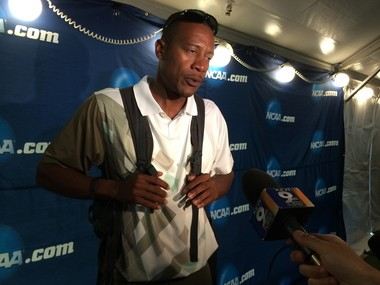 UO coach Robert Johnson isn't complaining about the new format for the NCAA Championships.