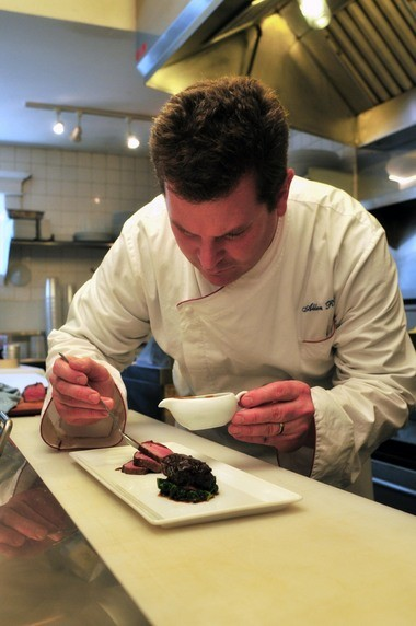 ÂChef Allen Routt makes everything just right in the kitchen of The Painted Lady in Newberg.