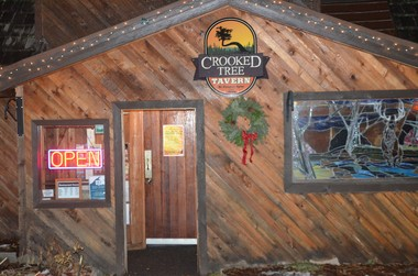 The Crooked Tree Tavern and Grill at Cooper Spur Mountain Resort.