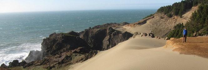 The southern Oregon coast, at Samuel H. Boardman State Scenic Corridor.