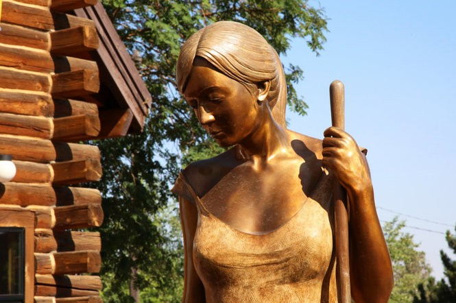 Visit Oregon's bronze capital, tucked away in the Wallowa