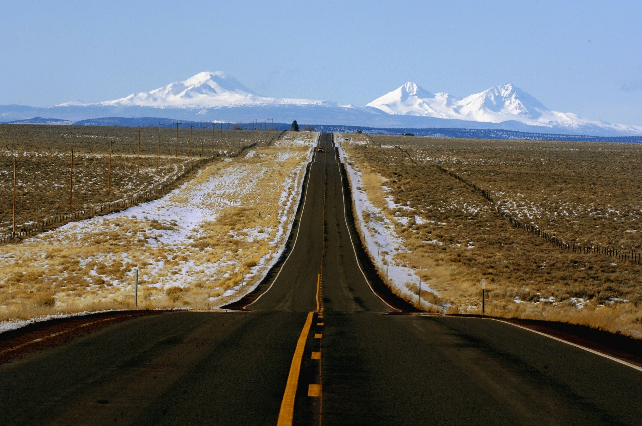 U S  20: Route crosses the Cascades and heads east