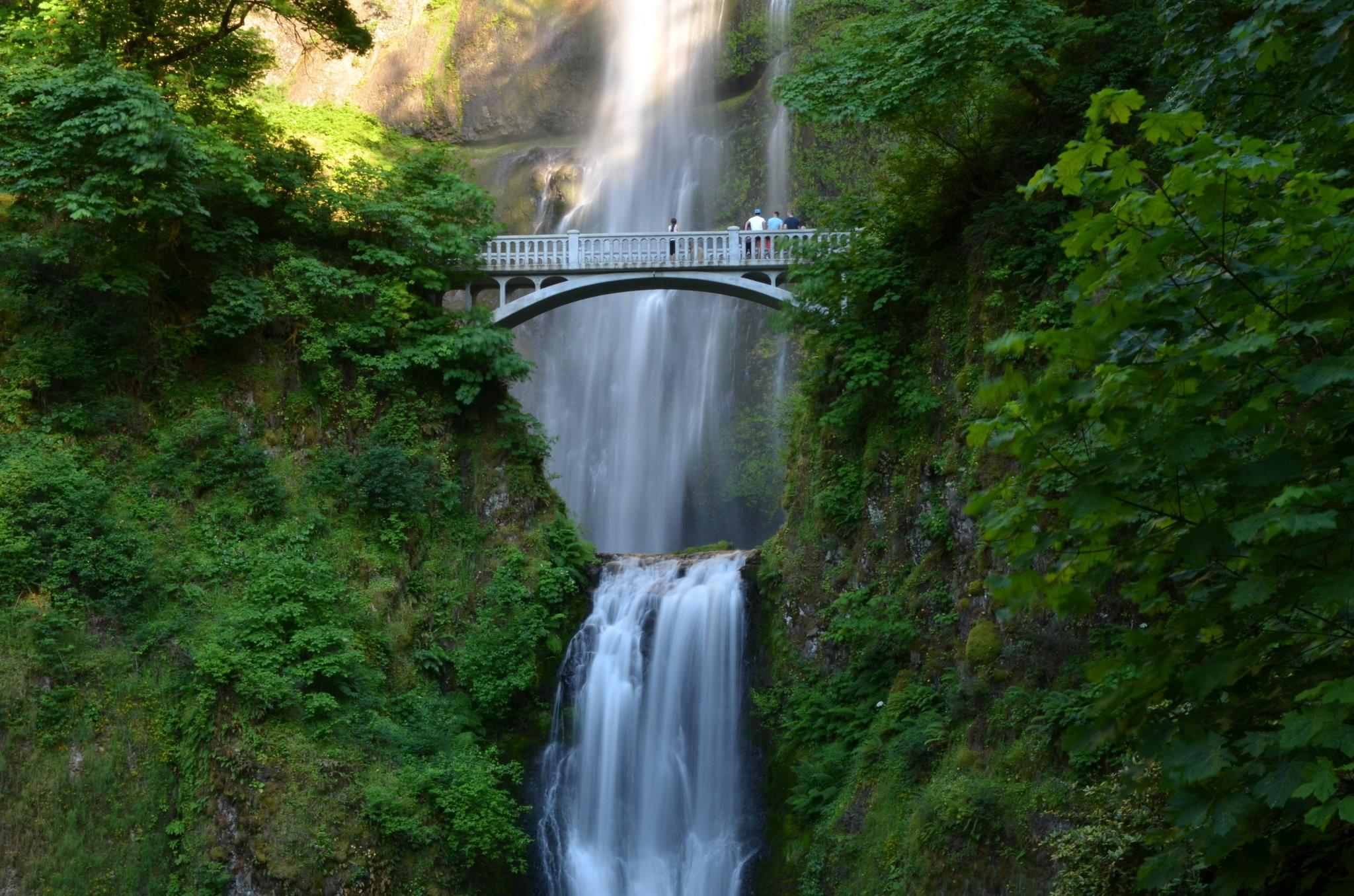 Benson Bridge Reopens At Multnomah Falls, Upper Trail