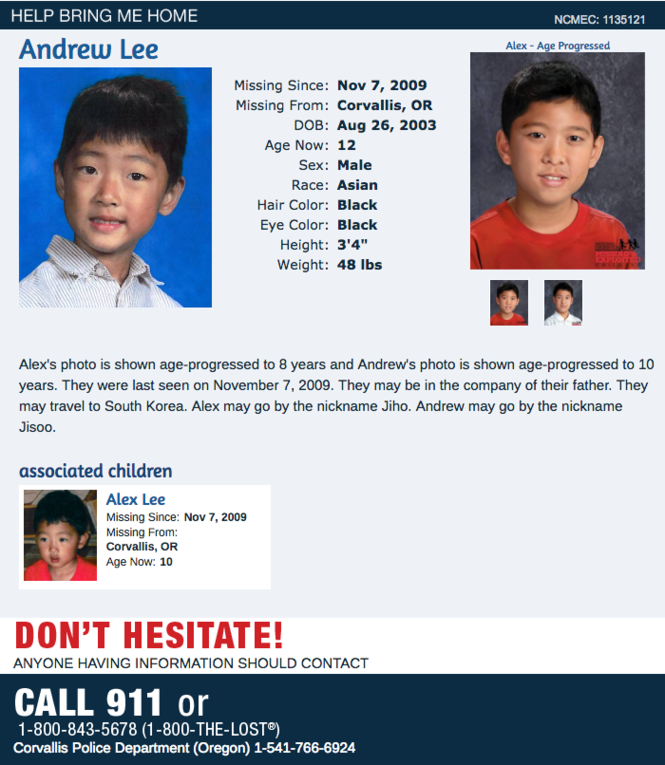 Oregon's 48 missing children: Photos, how to help