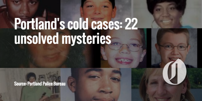 Portland's cold cases: 22 unsolved mysteries - oregonlive com
